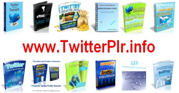 Product picture *NEW 18 TWITTER Ebook & Video Reseller Resale Rights + Bonus